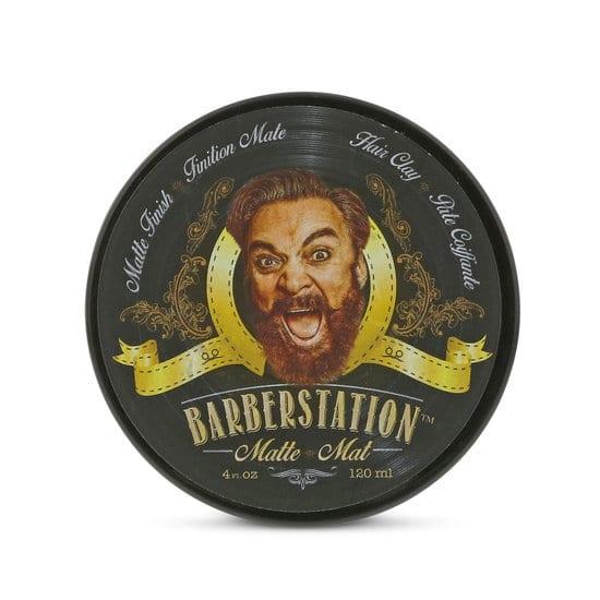 Matte pomade voor haren en baard   Barberstation