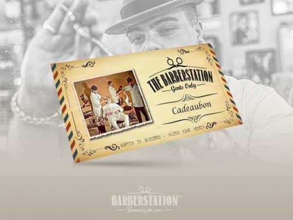 Cadeaubon The Barberstation