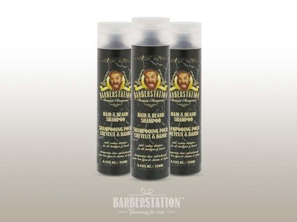 Haar- en baard shampoo   Barberstation